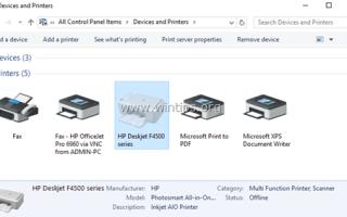 Как удалить драйверы принтера в Windows 10, 8, 7 и Vista.