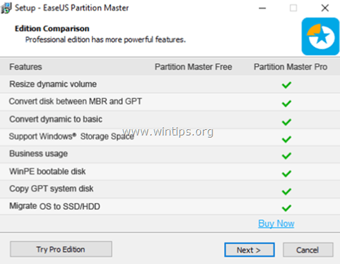 EASEUS Partition Master Бесплатно