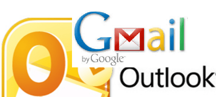 Настройка Gmail в Outlook